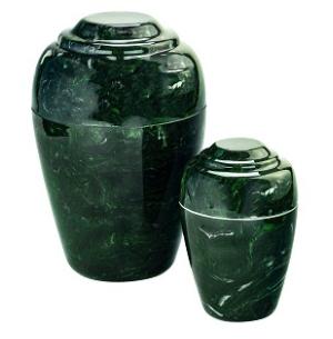 Verde Grecian Cultured Marble Urn