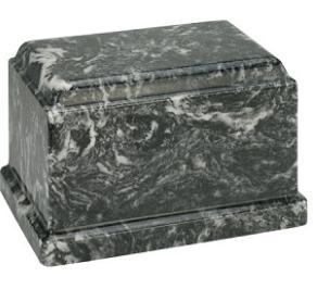 Ebony Olympus Cultured Marble Urn