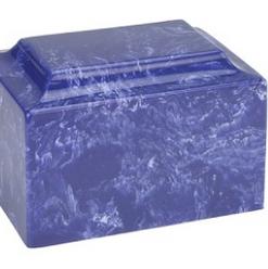 Cobalt Classic Cultured Marble Urn