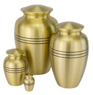 Three Bands Gold Urns-All sold sep.