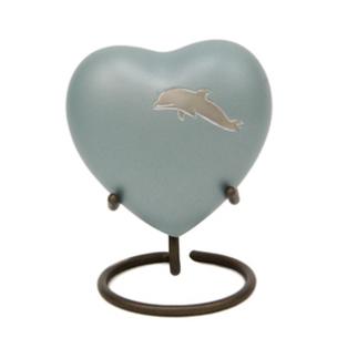 Aria Dolphin Heart Keepsake