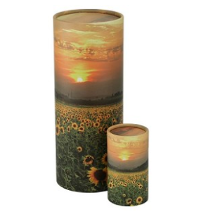 Sunflowers Scattering Tube
