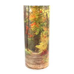 Autumn Path Scattering Tube