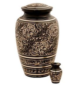 Villarose Brass Urn