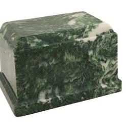 Emerald Olympus Cultured Marble Urn