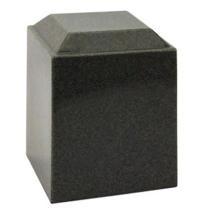 Magna Sable Gray Cultured Marble Urn