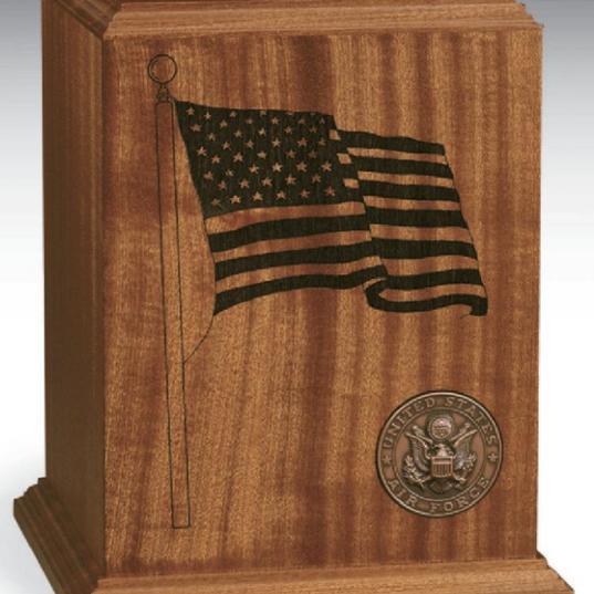 Patriot Wood Urn
