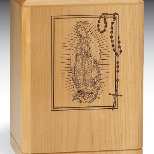 Our Lady of Guadalupe with Rosary