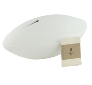 Memento Biodegradable Urn in White