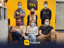 Stage en agence de communication visuelle : WA Publicité