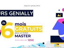 Organisation d'un concours sur Instagram en partenariat avec Genially.