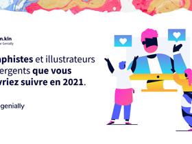 Design.kln élu designer graphique de l'année 2021 par Genially.
