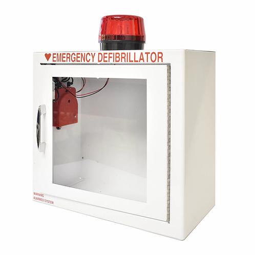 AED Standard Wall Cabinet - Smaller - Strobe & Alarm Included