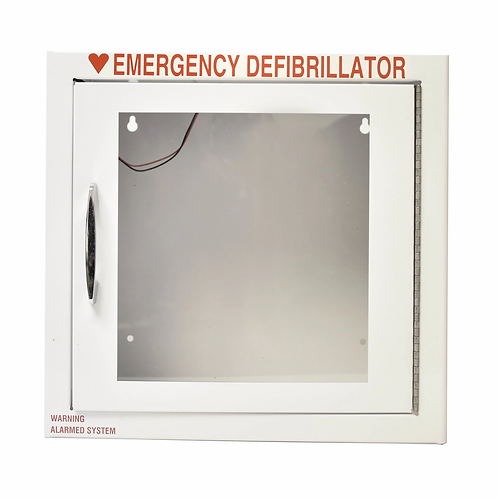 AED Standard Wall Cabinet - Smaller - Alarm Included