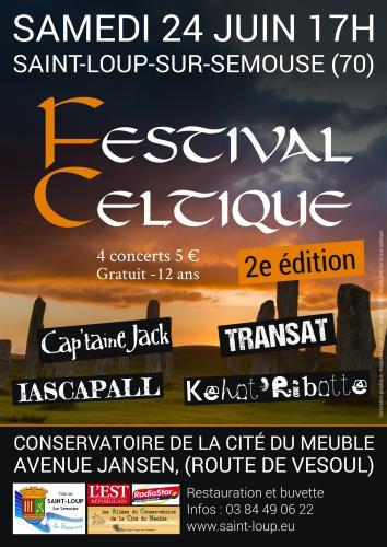 Festival celtique de Saint-Loup sur Semouse.