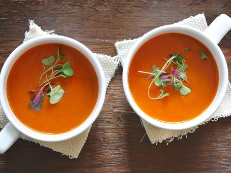 Vellutata di Pomodoro - Una ricetta al giorno