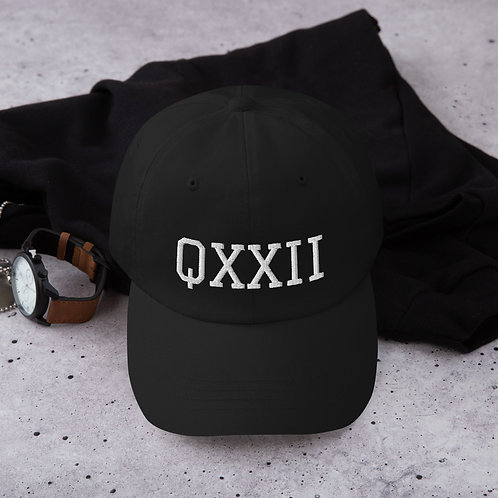 Jay Wells/QXXII Dad Hat (White Thread) SPECIAL EDITION