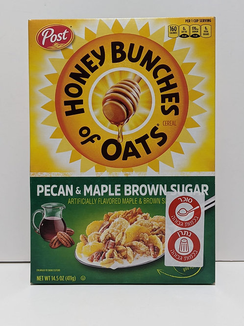 Post Honey Bunches of Oats Pecan & Maple Brown Sugar