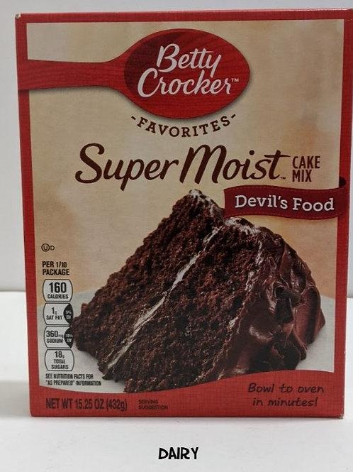Betty Crocker Super Moist Devil's Food