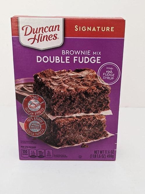 Duncan Hines Double Fudge Brownie Mix