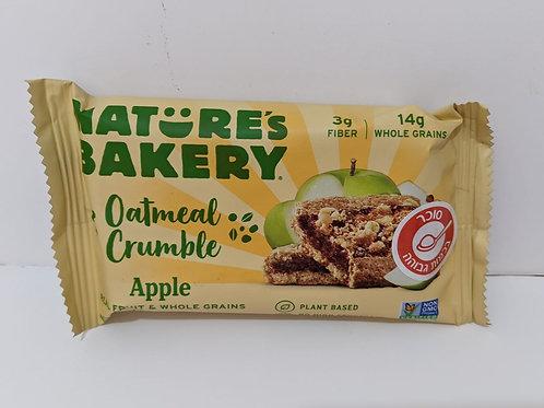 Nature's Bakery Oatmeal Crumble Apple