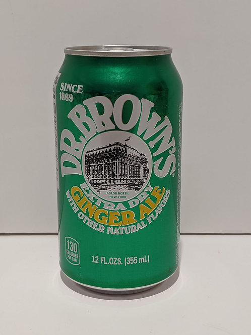 Dr. Brown's Extra Dry Ginger Ale