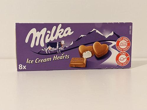 Milka Ice Cream Hearts (לאוכלי חלב נוכרי)
