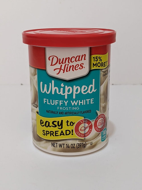 Duncan Hines White Frosting (Pareve)
