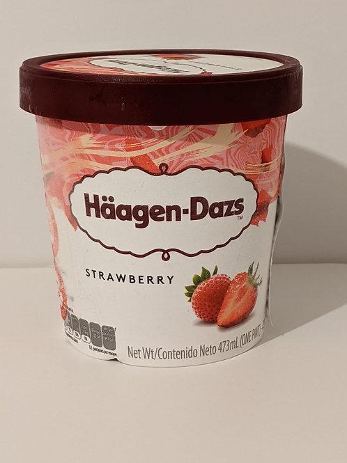 Häagen-Dazs Strawberry Ice Cream Pint (לאוכלי חלב נוכרי)