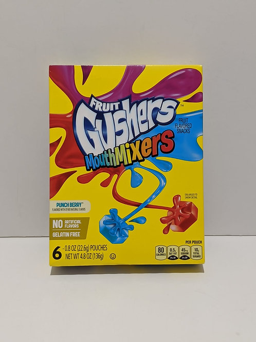 Gushers Mouth Mixers Punch Berry
