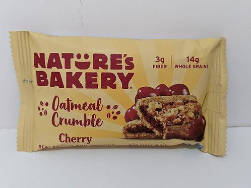 Nature's Bakery Oatmeal Crumble Cherry