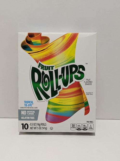 Fruit Roll-Ups Tropical Tie-Dye