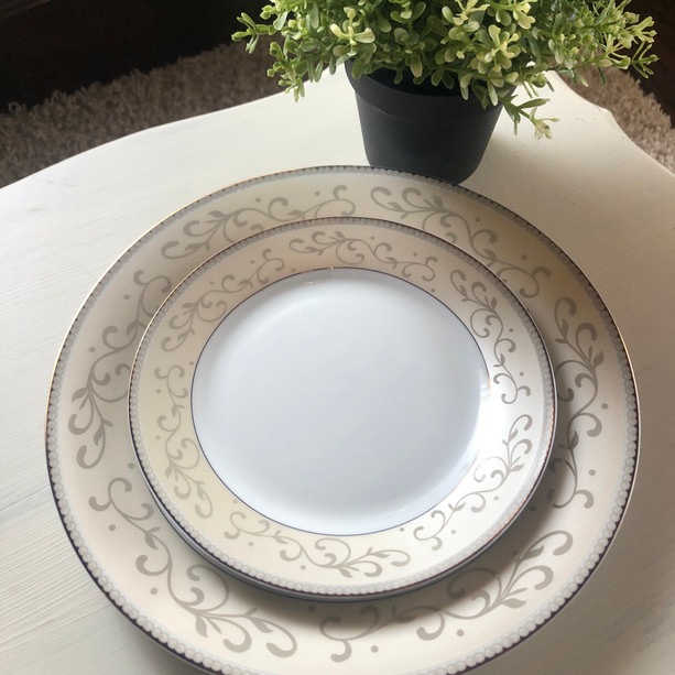 Head Table Plates ~ Blush Gold