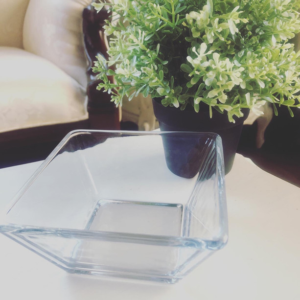 Square Glass Dishes