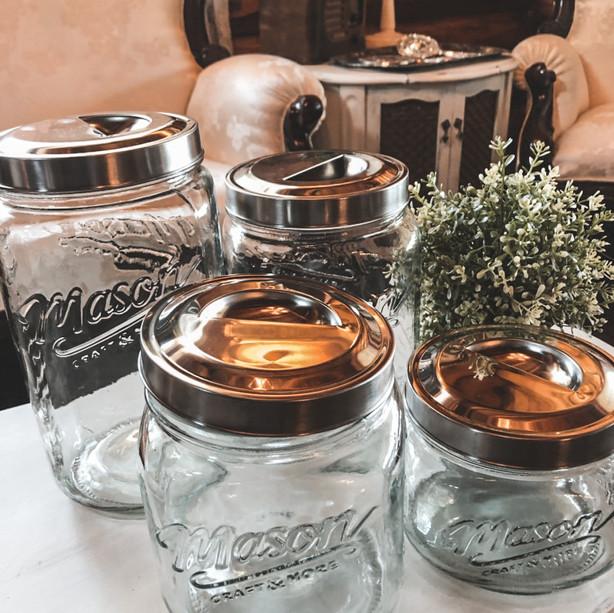 Candy Bar Mason Jars