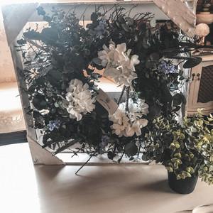 Floral Wreath Frame (2 Available)