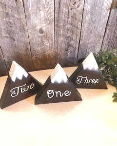 #5 ~ Mountain Table Numbers (1-17)