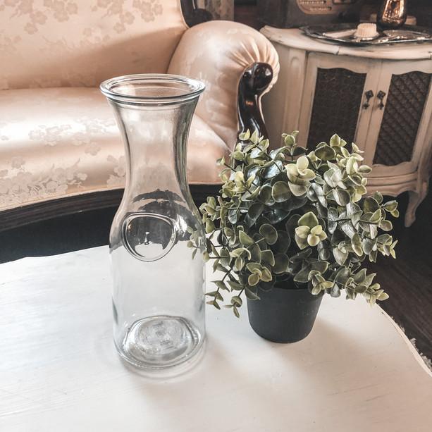 Glass Milk Jars