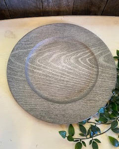 Wood Grain Charger Plate (138 Available)
