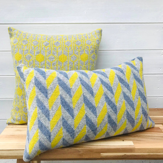 Herringbone Lambswool Cushion