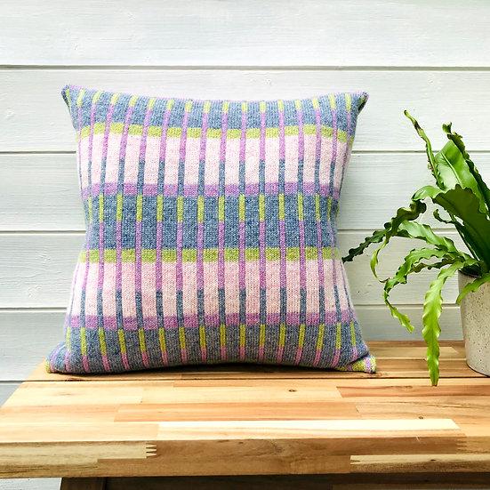 Botanical Lambswool Cushion