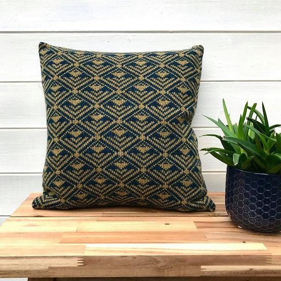 Definitive Diamonds Cushion Petrel & Olive
