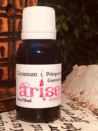 Geranium Essential Oil from ARISE ESSENTIALS
