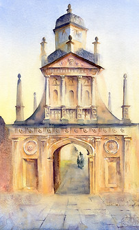 The Gate of Honour, Gonville & Caius, Cambridge
