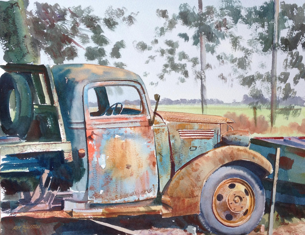 Rusty Paintwork