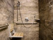 Commercial construction public bathroom sink