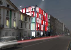 Edificio per il commercio a Milano