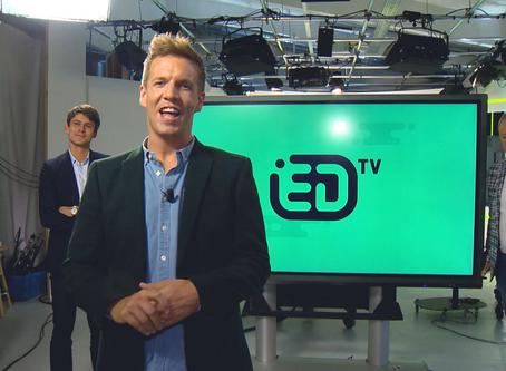 James Cooke lanceert eigen zender ED TV dat is schooltelevisie 2.0
