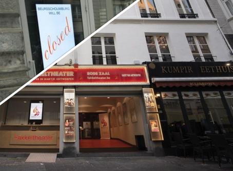 Fakkeltheater verlaagt maximumcapaciteit, eerste theaters in Brussel sluiten opnieuw tot 2021