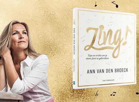 """Ann Van den Broeck lanceert eigen boek en online """"zing"""" platform"""